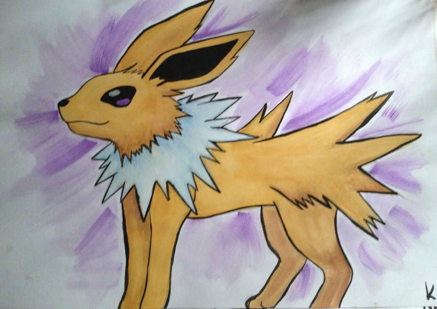 Pokemon: Jolteon by Katherine-The-Freak