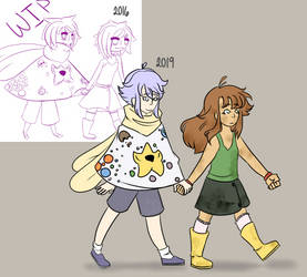 Character Redraw! by VintageOddity