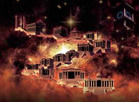 saint seiya sanctuary by hadesama01