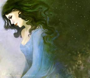 Emerald night by ellaine
