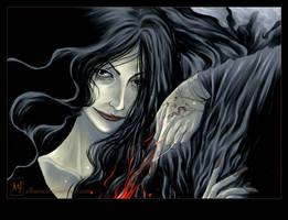 Bellatrix Lestrange by ellaine