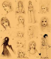 Sketchy randomness II by ellaine