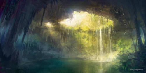 Cenote by jcbarquet