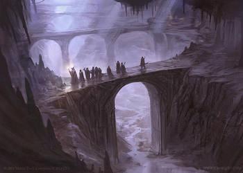 Journey in the Dark - LOTR TCG by jcbarquet