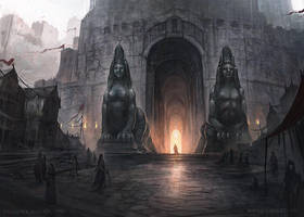 At the Gates - Game of Thrones LCG by jcbarquet