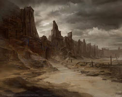 Broken Battlements - Lord of the Rings TCG by jcbarquet