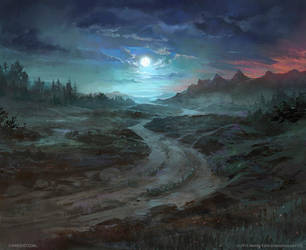 Old Road - Lord of the Rings TCG by jcbarquet