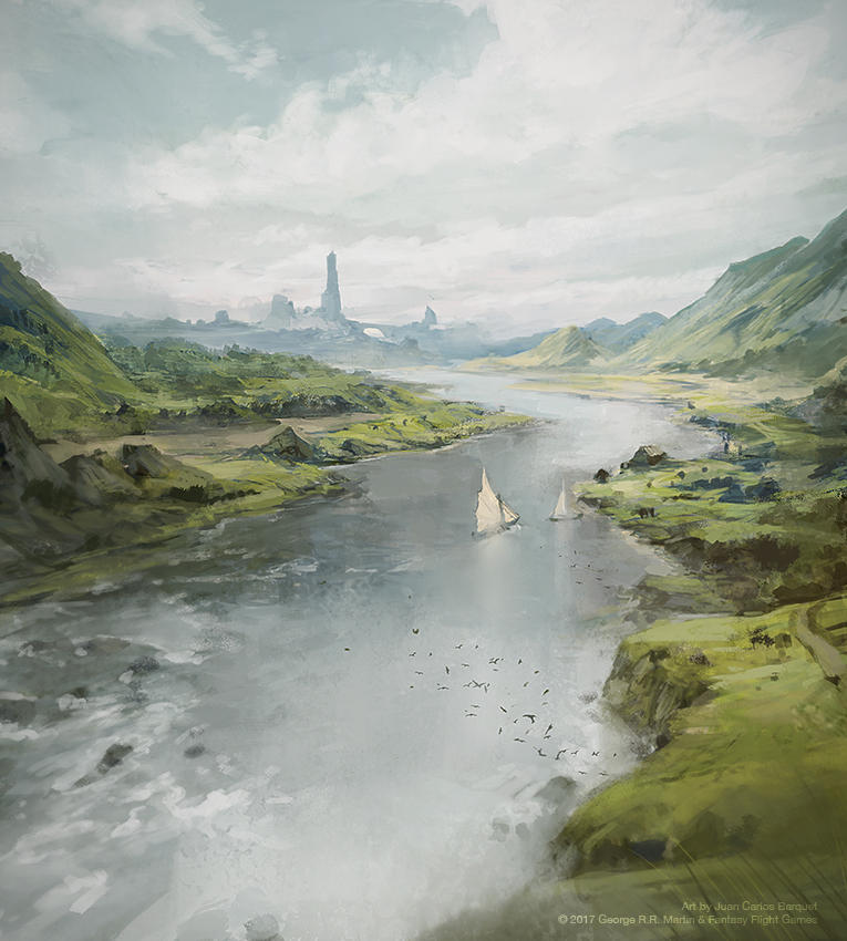 The Honeywine - Game of Thrones LCG by jcbarquet