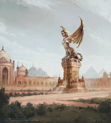 Game of Thrones LCG - Plaza of Pride by jcbarquet
