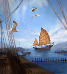 Game of Thrones LCG - Summer Sea Port by jcbarquet