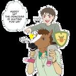 [HSV] To the princess' rescue! by mandarain-a