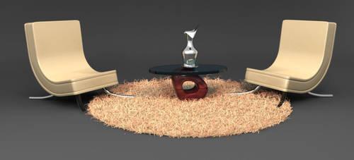 Posh Room by Spasmedrosetta