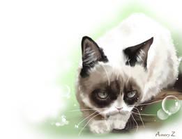 Tard - Grumpy Cat by Windemo