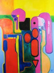 DIVERGENCE Original Contemporary Art PATTY by Sean-Patty