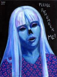 DEAD GIRL 1 Original Contemporary Art PATTY by Sean-Patty