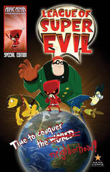League of Super Evil Cover by crozonia