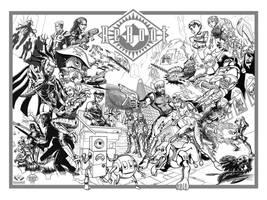 ReBoot Season 3 Poster BW by crozonia