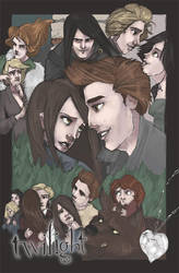 twilight poster entry toned by Awkwardly-Social