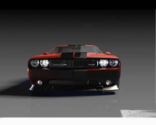 Challenger SRT 392 by Artsoni3D