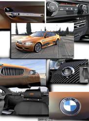 BMW m3 GTS by Artsoni3D