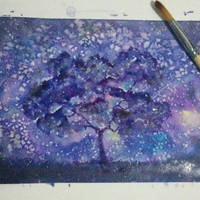 Purple by Sinajei