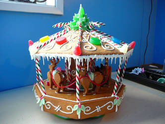 Gingerbread Carosel 2 by DavidArsenault
