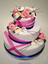 Roses and Cala lillies Wedding by DavidArsenault