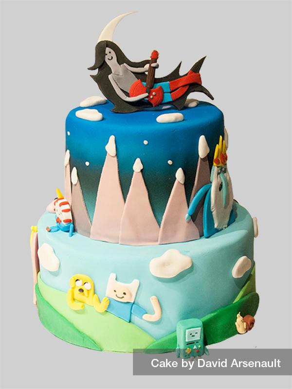 Adventure Time Cake By Davidarsenault On Deviantart
