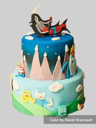 Adventure Time Cake by DavidArsenault