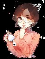 Tea lover by MeiiPng