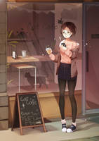 Cat Cafe by MeiiPng