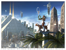 The Queen Of New Cairo by Fredy3D