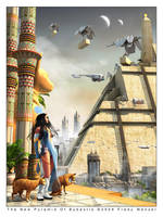 The New Pyramid Of Bubastis by Fredy3D