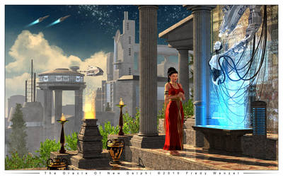 The Oracle Of New Delphi by Fredy3D