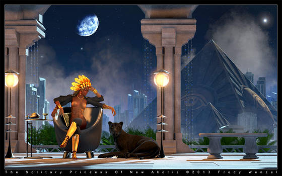 The Solitary Princess Of New Akoris by Fredy3D