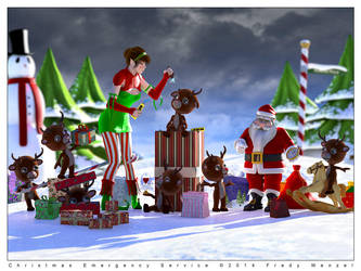Christmas Emergency Service by Fredy3D