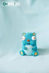 Bear Diego from 'AradiyaToys Design', pattern by AradiyaToys