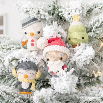Christmas Minis set by AradiyaToys by AradiyaToys