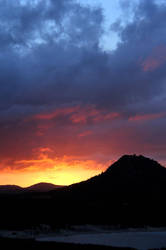 sunset play by Niophee
