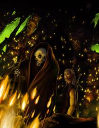 Dying flame by kunoichi-san