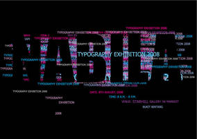 Typography exhibition 2008 by Gothika4evr