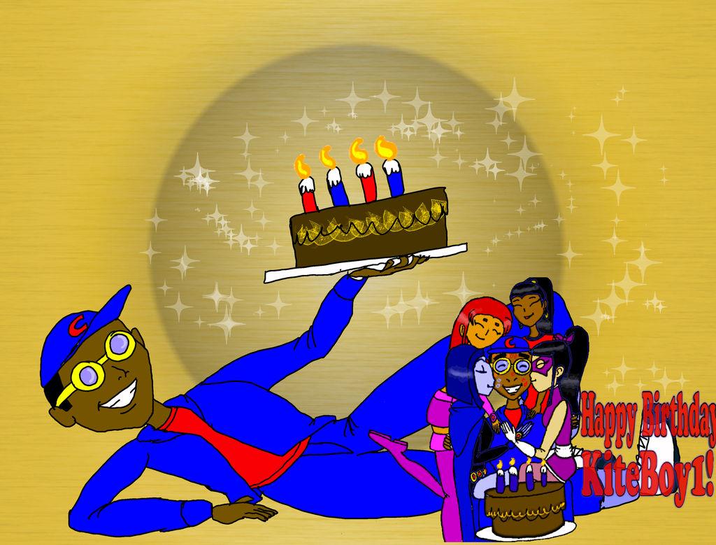 Happy Birthday, KiteBoy1 2013 by KiteBoy1