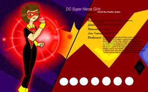 DC  Superhero Girls Scarlet Ray by KiteBoy1