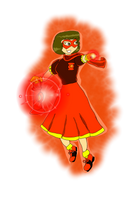 Bombshell Scarlet Ray Heather Jordan by KiteBoy1