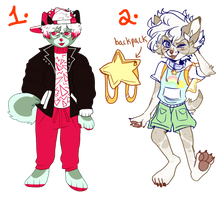 20 Each  Collab Adopt With Fruitgutz(ONE LEFT!!) by cryptidroad