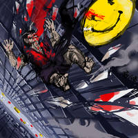 Watchmen: The comedian by ZylAeryel