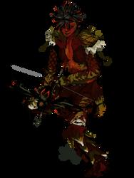 Red ranger by ZylAeryel
