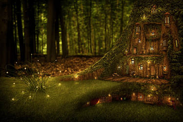 Home of the dwarfs II by Schnette