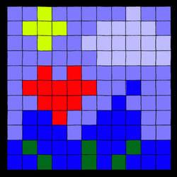 giant pixel by cupcakemichi