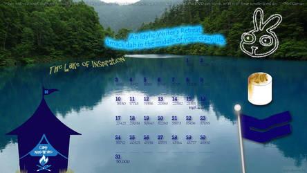 Camp NaNo July 2011 Calendar by cupcakemichi